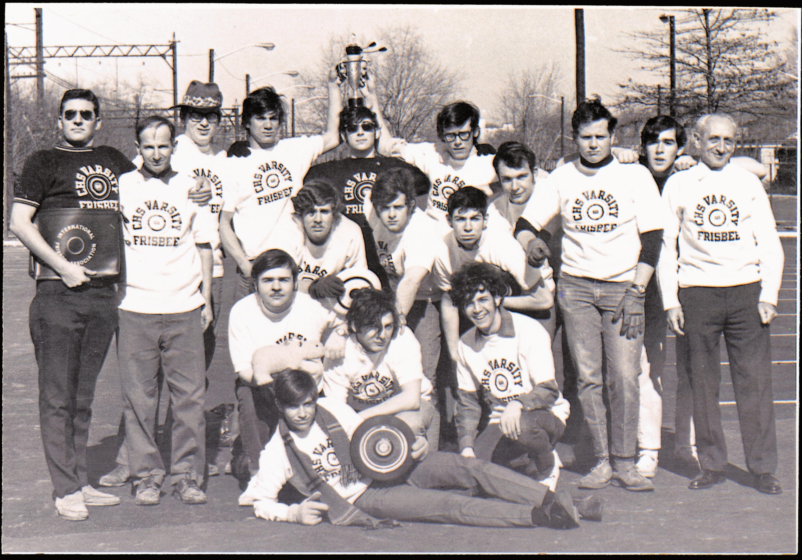 '70 CHS Frisbee Team
